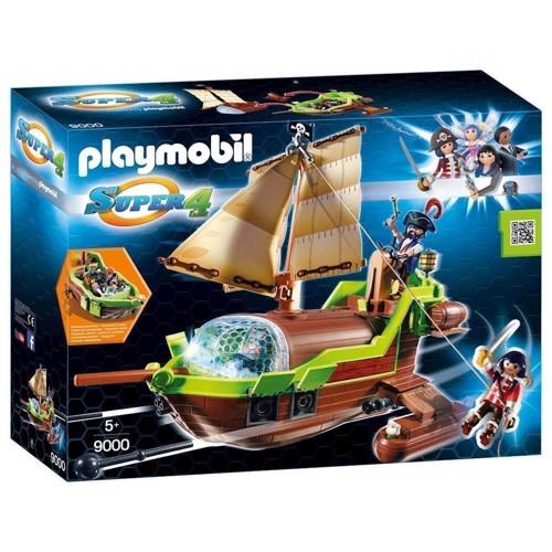 Image of Playmobil 9000 Super 4 Galleon Chameleon skib (4008789090003)