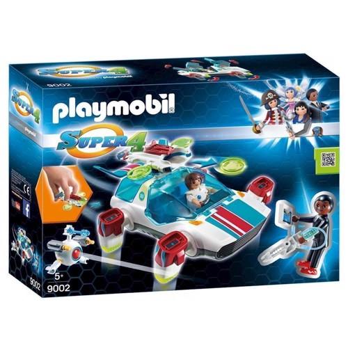 Image of Playmobil 9002 Super 4 FulguriX med Gene (4008789090027)