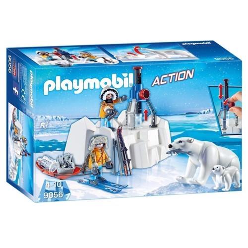 Image of Playmobil 9056 Action ekspeditions mennesker med isbjørne (4008789090560)