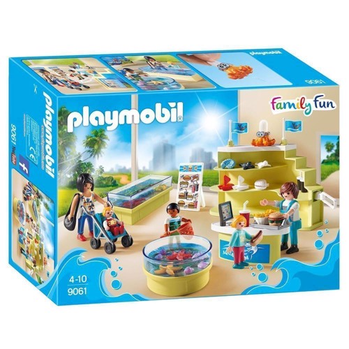 Image of Playmobil 9061 family fun akvarium butik (4008789090614)