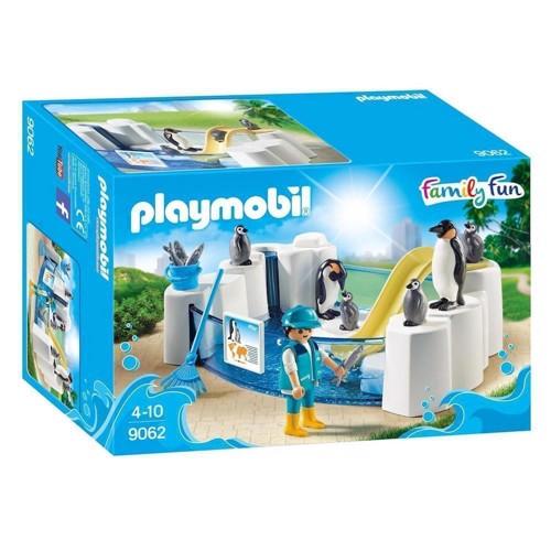 Image of Playmobil 9062 Family Fun Pingviner i Zoo (4008789090621)