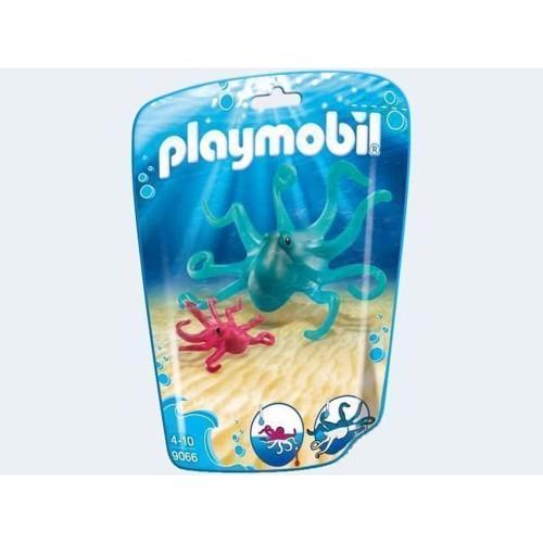Image of Playmobil 9066 Blæksprutte Med Unge