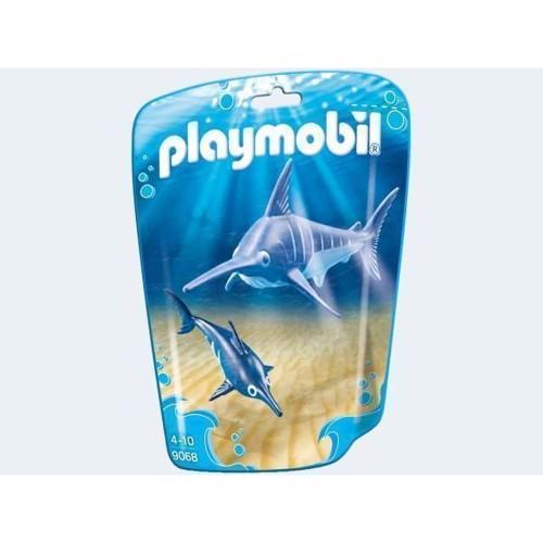 Image of Playmobil 9068 sværdfisk med unge (4008789090683)