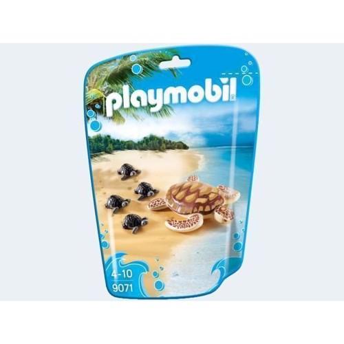 Image of Playmobil 9071 havskildpadde med unger (4008789090713)