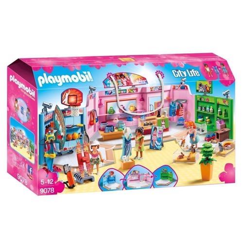 Image of Playmobil 9078 indkøbscenter (4008789090782)