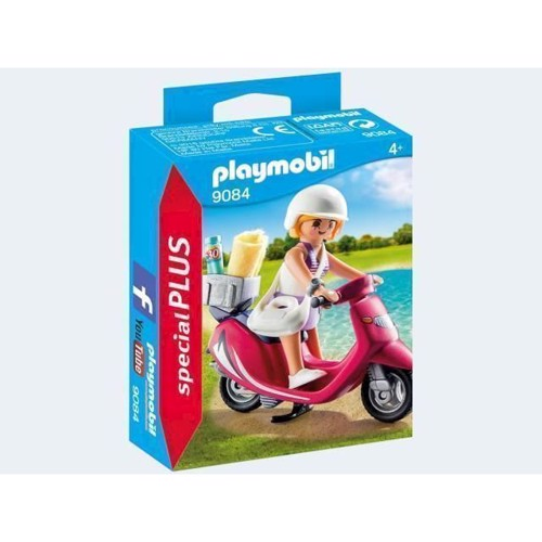 Image of Playmobil 9084 Girl with Scooter (4008789090843)