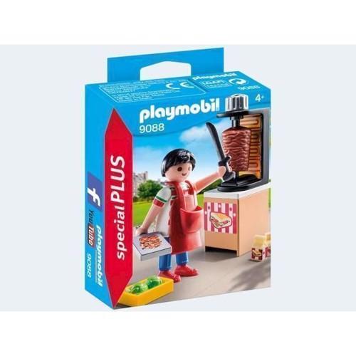 Image of Playmobil 9088 Kebab Seller (4008789090881)