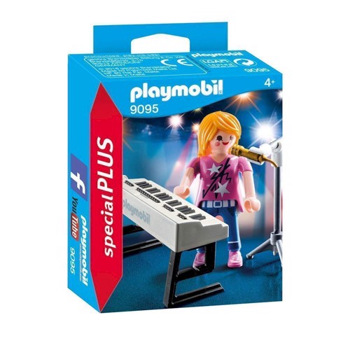 Image of   Playmobil 9095, sanger med Keyboard