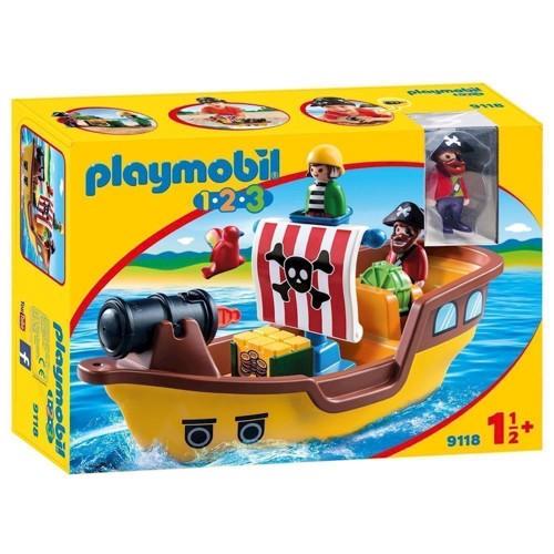 Image of Playmobil 9118 Pirate Ship (4008789091185)