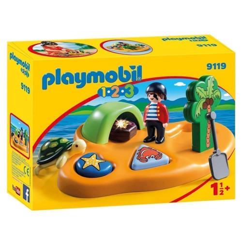Image of Playmobil 9119 Pirate Island (4008789091192)