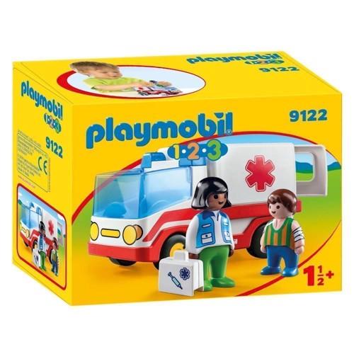Image of Playmobil 9122 Ambulance (4008789091222)