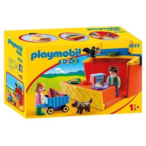 Image of Playmobil 9123 Take-Stall (4008789091239)