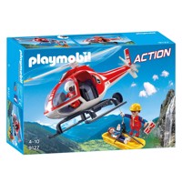 Playmobil 9127 Rescue workers with Helicopter