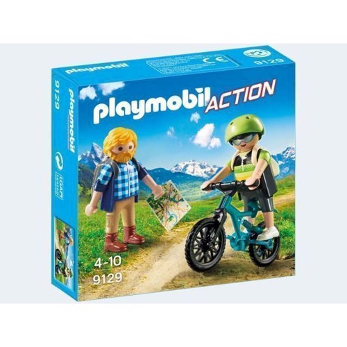 Image of Playmobil 9129 hiker and mountainbiker (4008789091291)