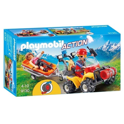 Image of Playmobil 9130 Reddingsquad with trailer (4008789091307)