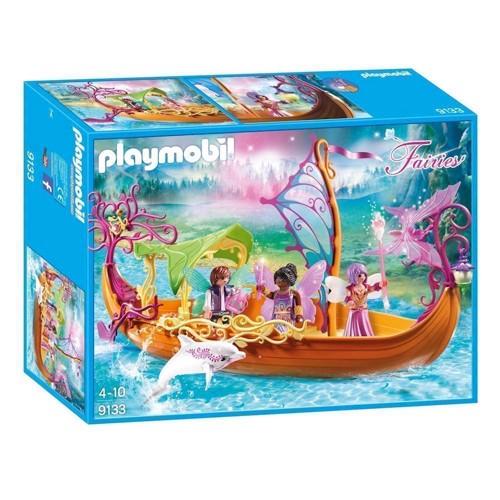Image of Playmobil 9133 magical fairies boat (4008789091338)