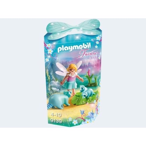 Image of Playmobil 9139 Fairy with raccoons (4008789091390)