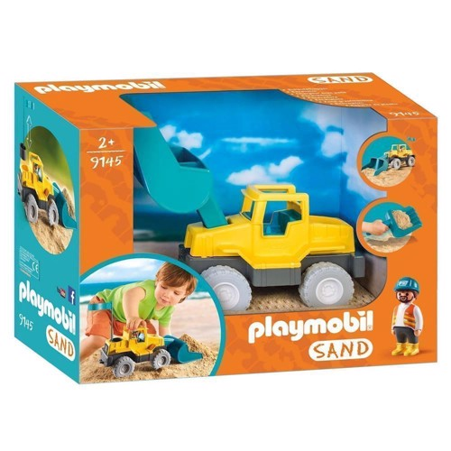 Playmobil 9145 Excavator with Shovel