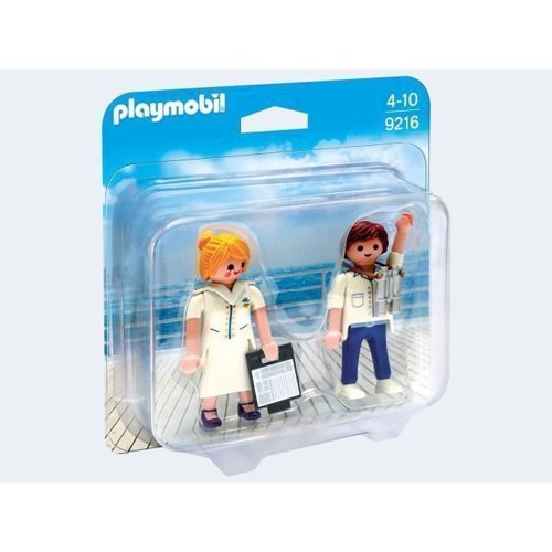 Image of Playmobil 9216 Duopack Steward and Stewardess (4008789092168)