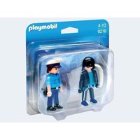 Playmobil 9218 Duopack Police and Thief