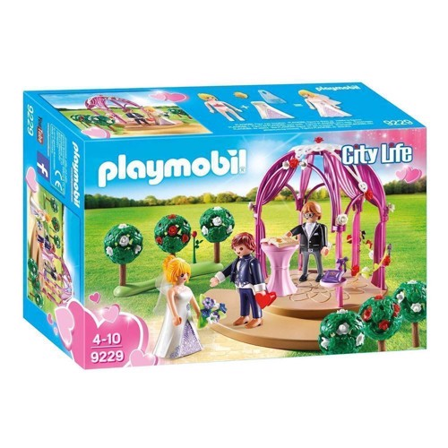 Playmobil 9229 Bride pavilion with bride couple