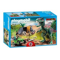 Playmobil 9231 Researcher with Dino's