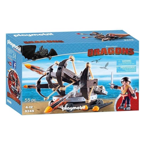 Image of Playmobil Dragons 9249 Eret med 4skudsBallista (4008789092496)