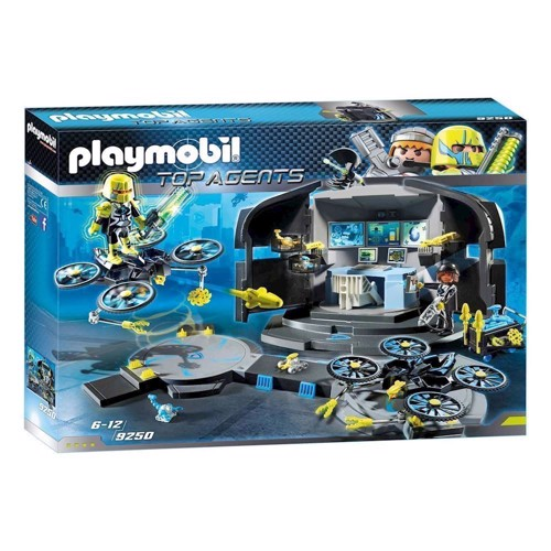 Image of Playmobil 9250 Dr. Drones Command Center (4008789092502)