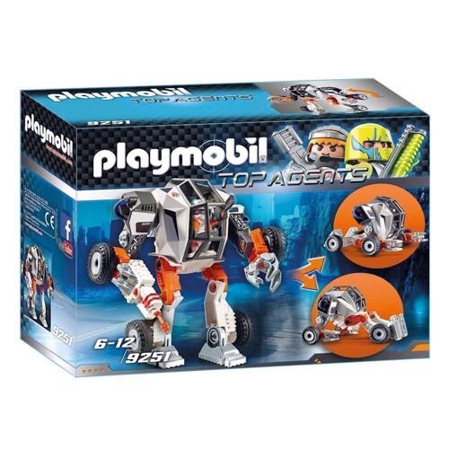 Playmobil 9251 Agent TECs Robotbil