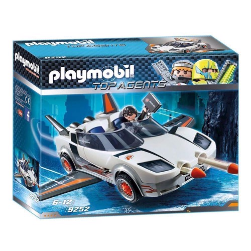 Image of Playmobil 9252 Agent P.s Super Racer (4008789092526)
