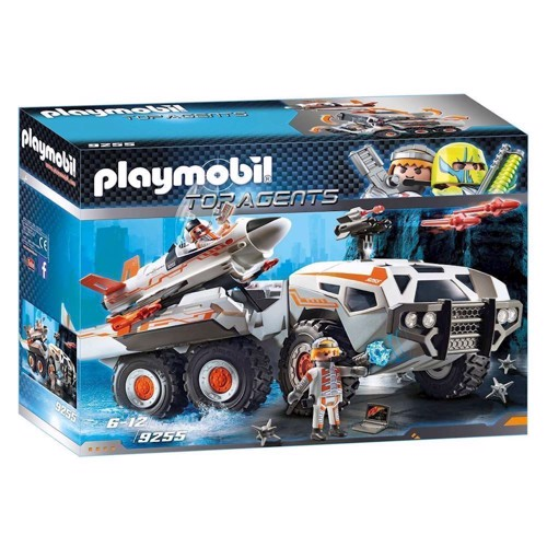 Image of Playmobil 9255 Spy Team bil (4008789092557)