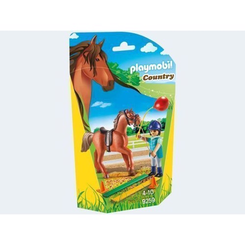 Image of Playmobil 9259 Horse Therapist (4008789092595)