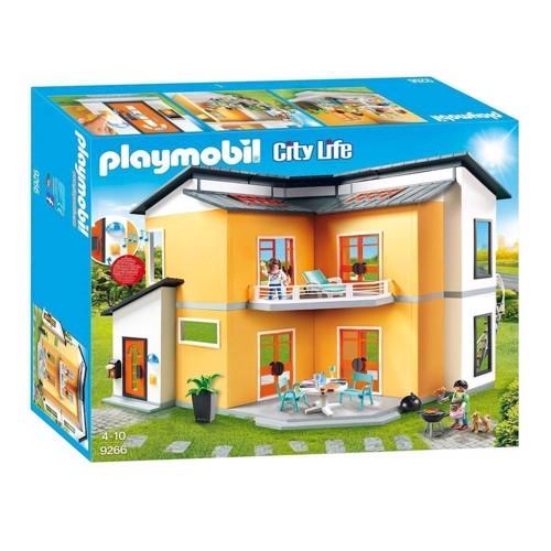 Image of Playmobil 9266 Moderne Ejendom (4008789092663)