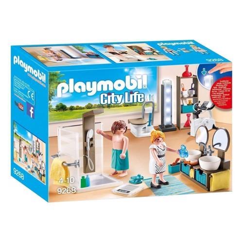 Image of Playmobil 9268 Badeværelse med bruser (4008789092687)