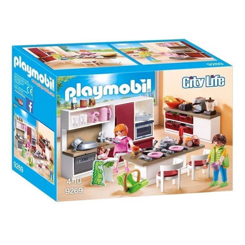 Image of Playmobil 9269 køkken med spisestue (4008789092694)