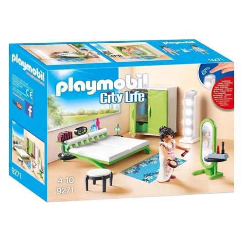 Image of Playmobil 9271 soveværelse med makeupbord (4008789092717)