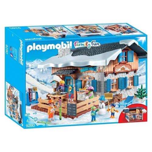 Image of Playmobil 9280 Ski Hytte (4008789092809)