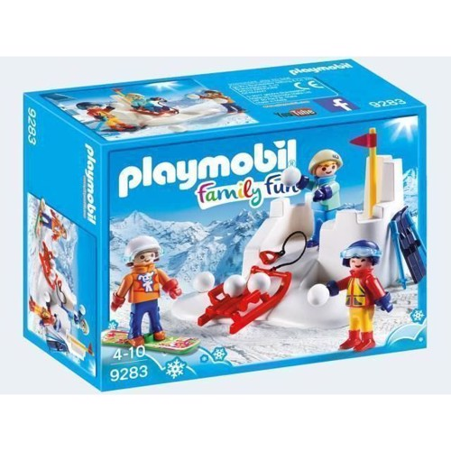 Playmobil sneboldkamp