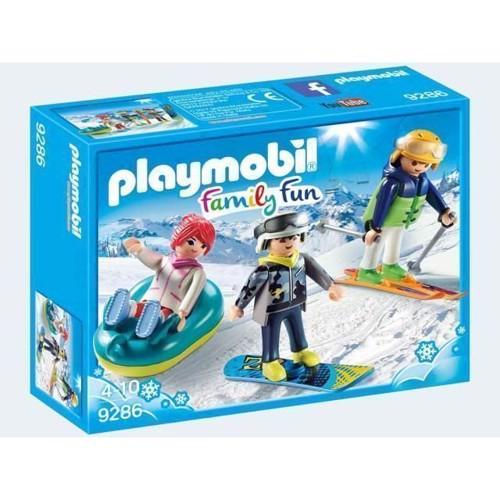 Playmobil rekreative skiløbere