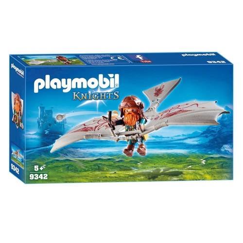 Image of Playmobil 9342 svævefly med dværg (4008789093424)