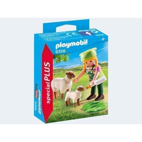 Image of Playmobil 9356 Landmand Med Får (4008789093561)