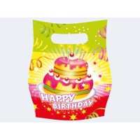 6 Party Bags Happy Birthday