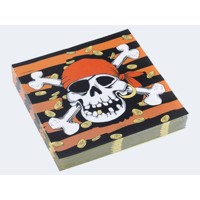 20 Party napkins pirate