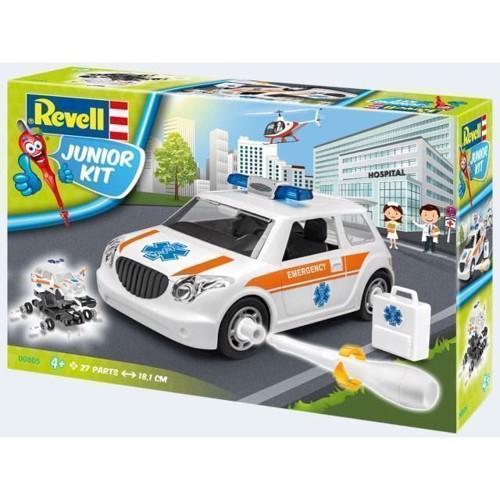 Image of   Revell Byggesæt Junior kit emergency car 1:20
