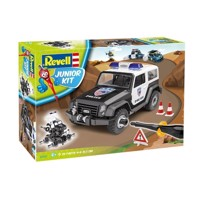 Revell Junior Kit Offroad Police Car