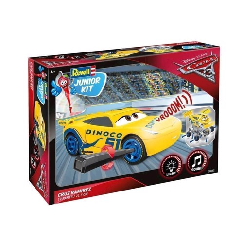 Image of   Revell byggesæt, Junior Kit Cars - Cruz Ramirez