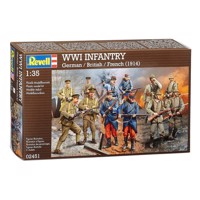 Revell Infantry WW1