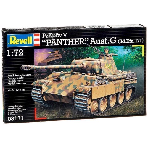 Image of   Revell Byggesæt Panther Tank