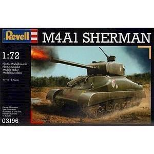 Image of   Revell Byggesæt M4A1 Sherman Tank