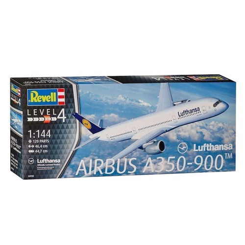 Image of   Revell Byggesæt Airbus A350-900 Lufthansa
